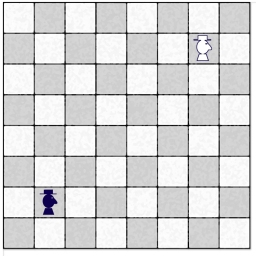 scacchiera con scarbacchio_posizioni iniziali